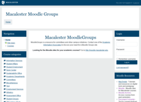 moodlegroups.macalester.edu