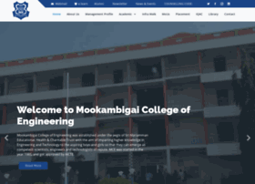 mookambigai.ac.in