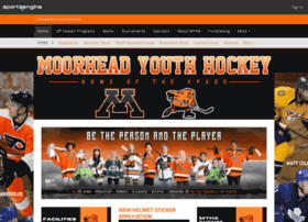 moorheadyouthhockey.com