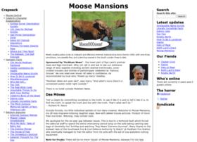 moosemansions.com