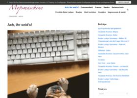 mopsmaschine.com