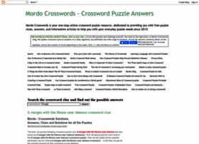 mordocrosswords.com