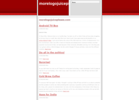 morelogojuiceplease.com