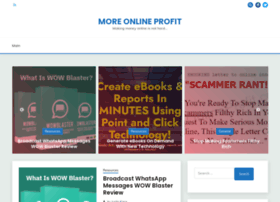 moreonlineprofit.com
