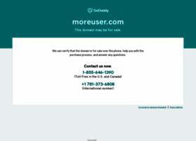 moreuser.com