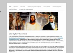 mormonwomenstand.com
