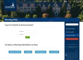 morningmail.gonzaga.edu