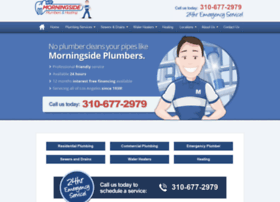 morningsideplumbers.com