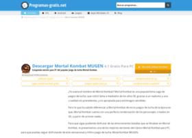mortal-kombat-mugen.programas-gratis.net