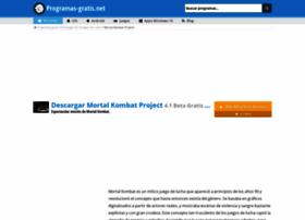 mortal-kombat-project.programas-gratis.net