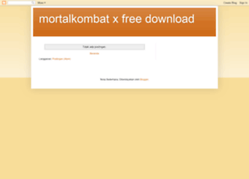 mortalkombatx-freedownload.blogspot.com