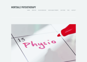 mortdalephysiotherapy.com.au
