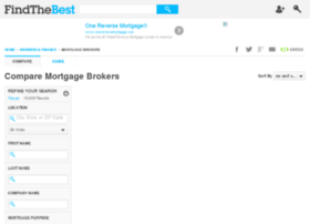 mortgage-brokers.findthebest.com