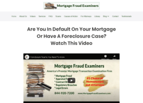 mortgagefraudexaminers.com