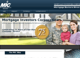 mortgageinvestors.com
