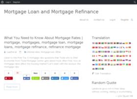 mortgageloanandmortgagerefinance.com