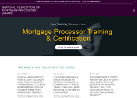 mortgageprocessor.org