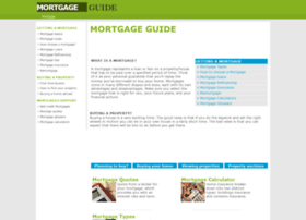 mortgagesguide.org