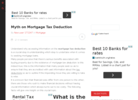 mortgagetaxdeduction.net