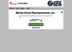 mortongrovepharmaceuticals.online-msds.com
