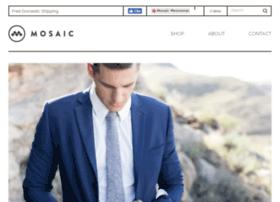 mosaicmenswear.com