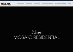 mosaicresidential.com