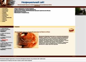 mosakademtur.ru