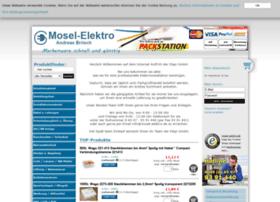 mosel-elektro.de