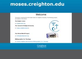 moses.creighton.edu