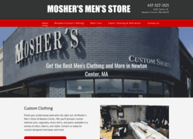 moshersfineclothing.com