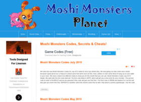 moshimonstersplanet.com