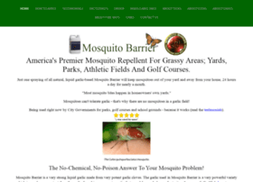 mosquitobarrier.com