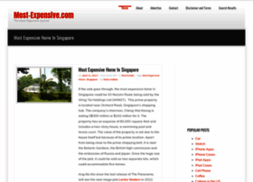 most-expensive.net