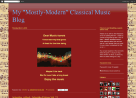 mostlymodernclassicalmusic.blogspot.com