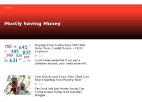 mostlysavingmoney.com