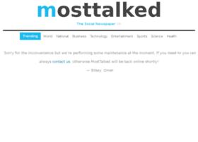 mosttalked.com