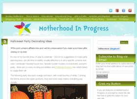 motherhoodinprogress.com
