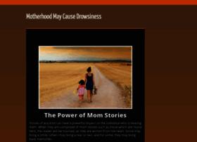 motherhoodmaycausedrowsiness.com