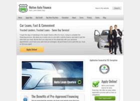 motiveautofinance.com