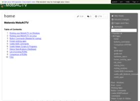 motoactv.wikispaces.com