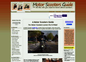 motor-scooters-guide.com