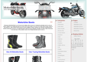 motorbikeboots.org.uk