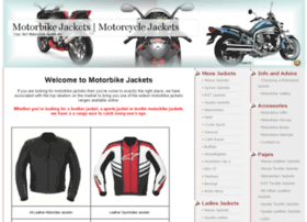 motorbikejacket.org.uk