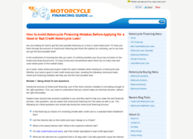 motorcycle-financing-guide.com