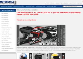 motorcyclehelmetsandjackets.com