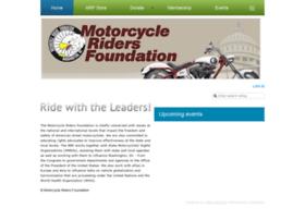 motorcycleridersfoundation.wildapricot.org