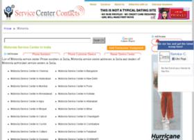 motorola.servicecentercontacts.com