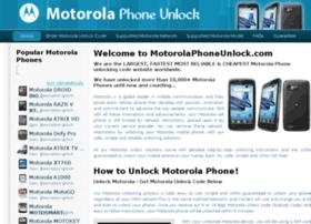motorolaphoneunlock.com