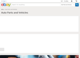 New & used cars, trucks, motorcycles, parts, accessories– eBay