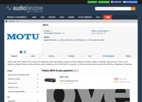motu.audiofanzine.com
